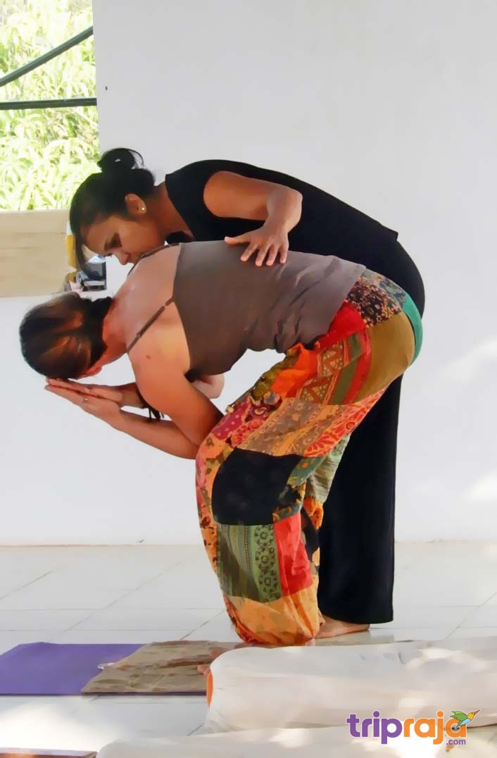 Parivrtta utkatasana support