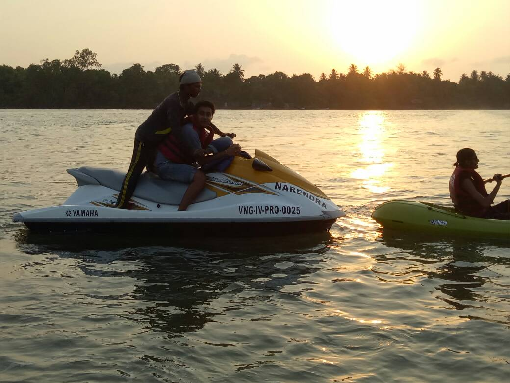 Jetski ride at Malvan