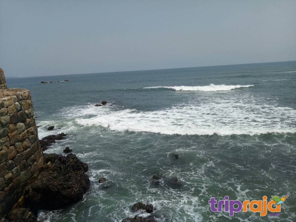 Sea view from Malvan fort