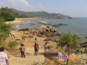 View-of-Om-Beach---Gokarna