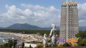 View-of-Temple-Tower-at-Murdeshwar
