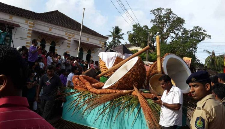 float-showing-local-items-made-from-coconut-tree