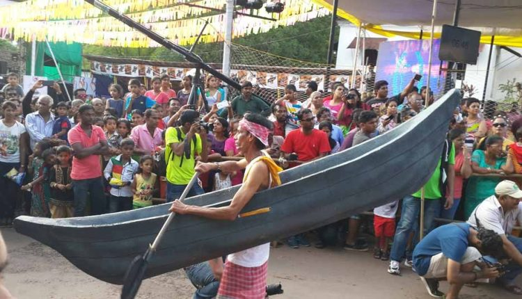 bonderam festival at divar island - local fishing boat