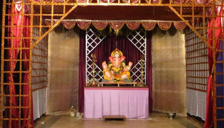 wooden-pandal-for-ganesh