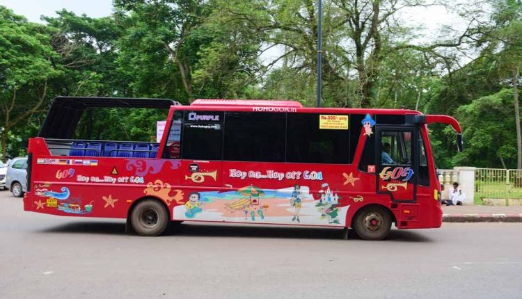Tourist-Hop-On-Hop-Off-Shuttle-at-old-Goa
