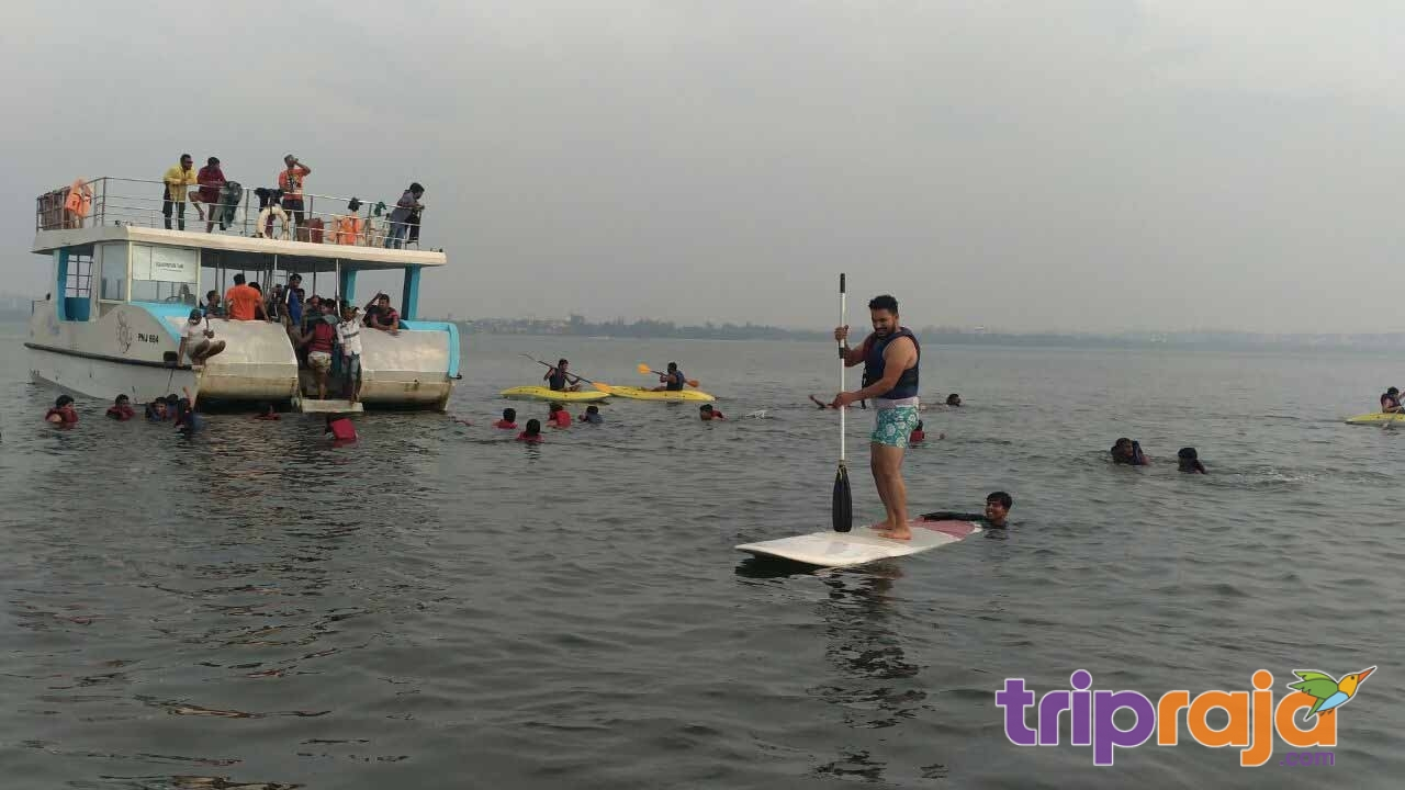 Sailing-on-SUP-Board