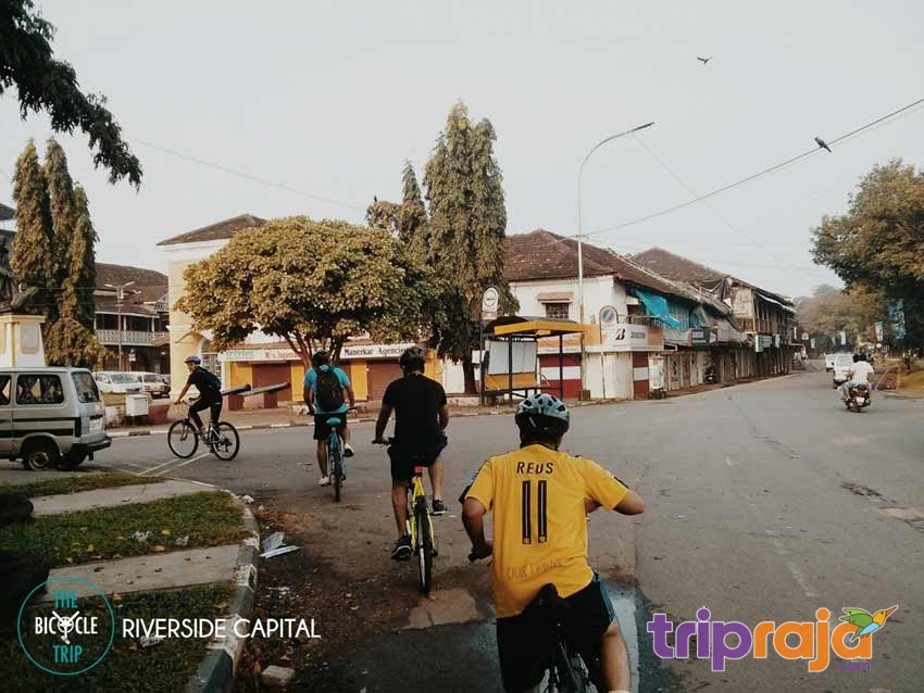 Exploring Goa on Bicycling-Tour - tripraja