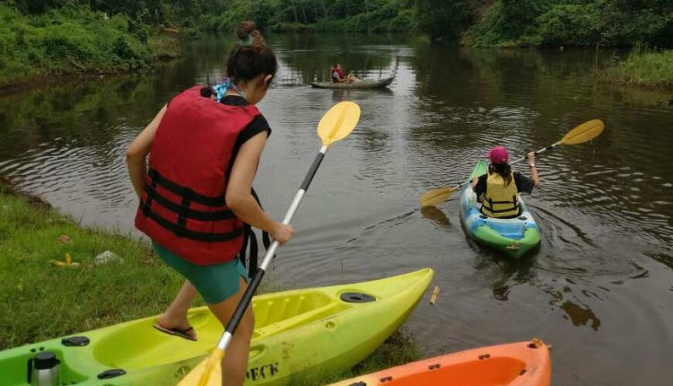 kayaking in Goa River