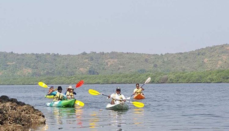 Kayaking-in-Goa-River