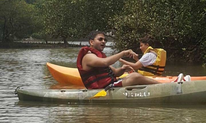 Learn-Kayaking-Goa