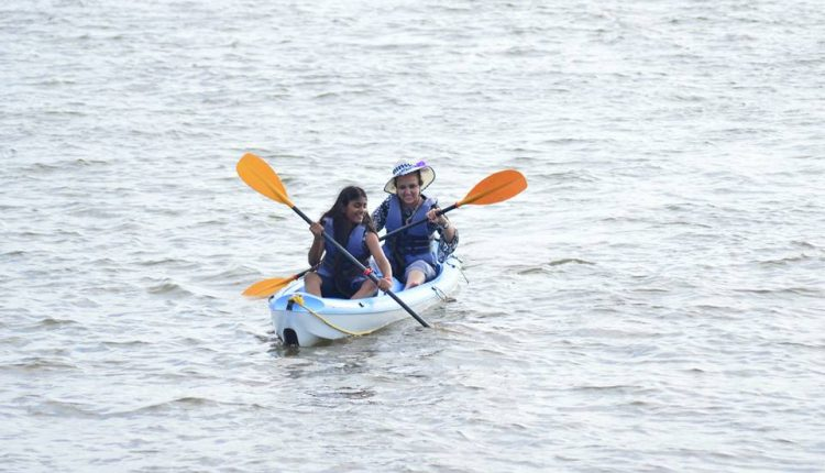 Party Adventure in Goa - Kayaking