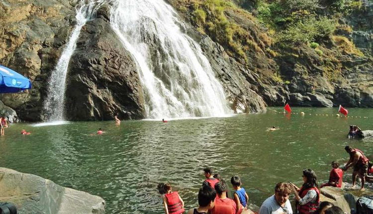 Swimming-at-Dudhsagar-Falls