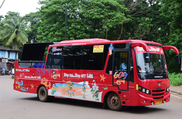 HOHO Bus Sightseeing Tours Goa Goa Darshan Tour