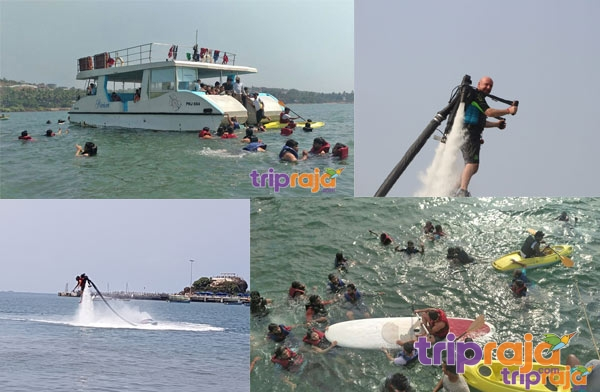 Jet Lev Flyer with Watersports Packages - Check Price - Booking