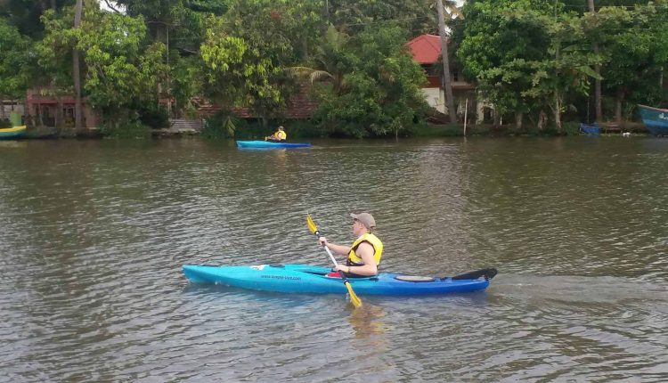 Backwater-Kayaking