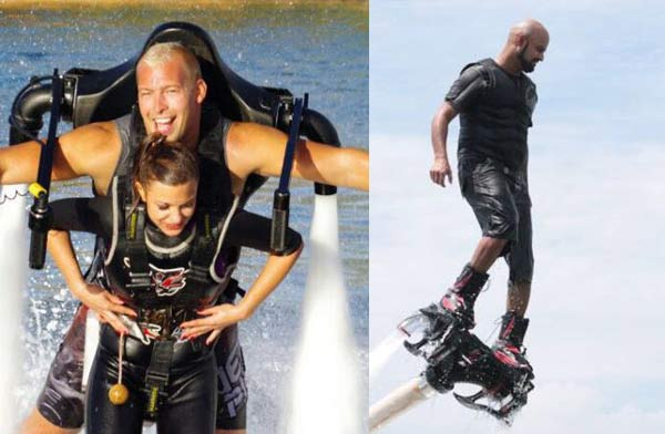 Jet Lev Flyer with Flyboarding - Check Price - Booking