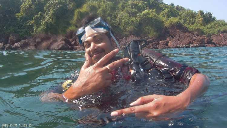 Diving-at-Grande-Island-Goa
