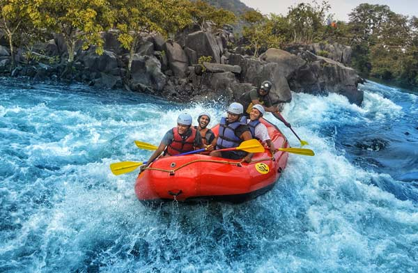 Monsoon River Rafting in Goa