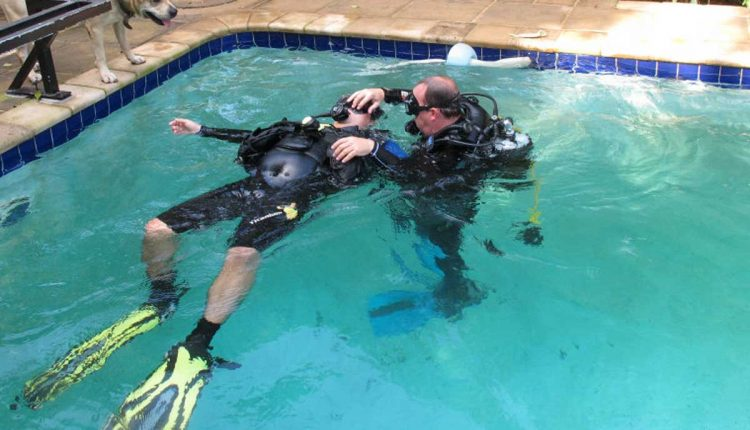 Diving with pool training in goa