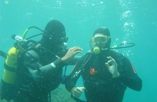 Advance Scuba Diving Package in Goa