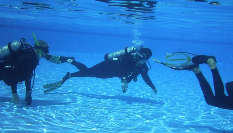scuba diving advance package goa
