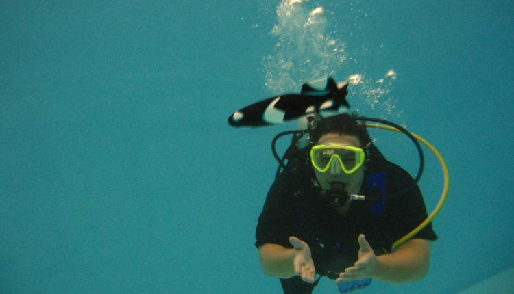 scuba-diving training with advance package-goa